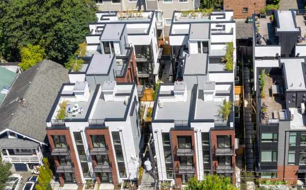 Aerial View of Core 6.1 and Core 6.2 in Capitol Hill