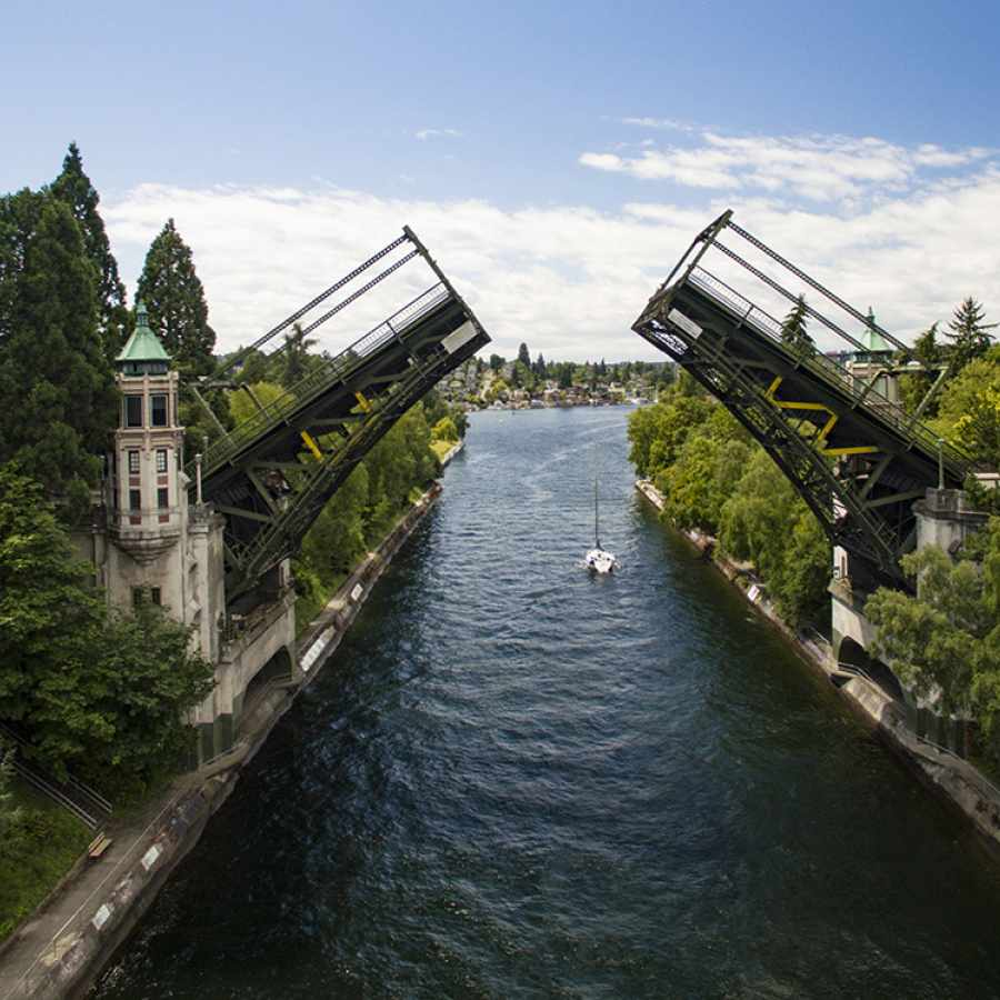 Montlake Bridge in Seattle
