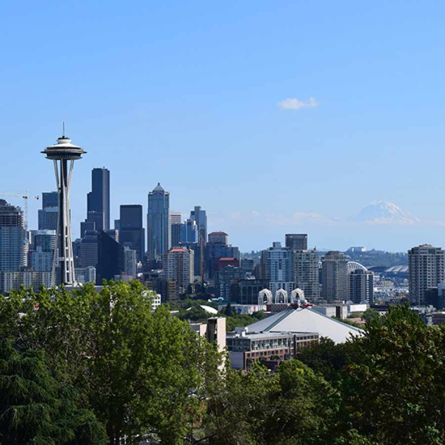 View of Seattle from Queen Anne's Kerry Park