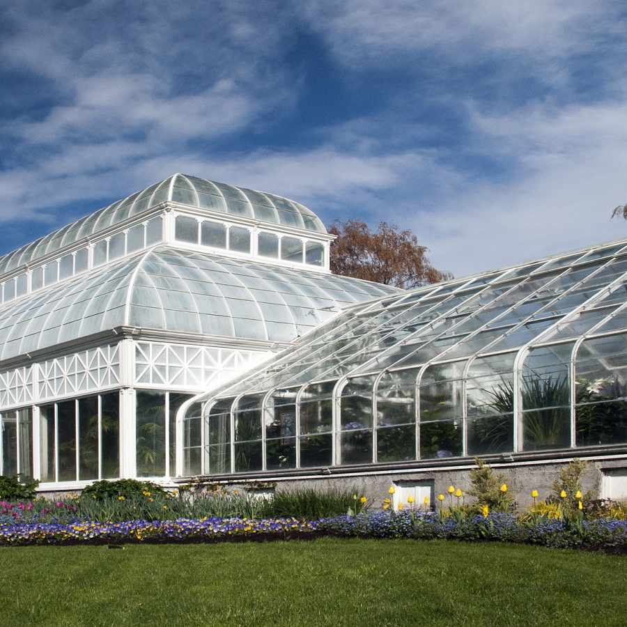 Volunteer Park Conservatory in the Capitol Hill Neighborhood of Seattle